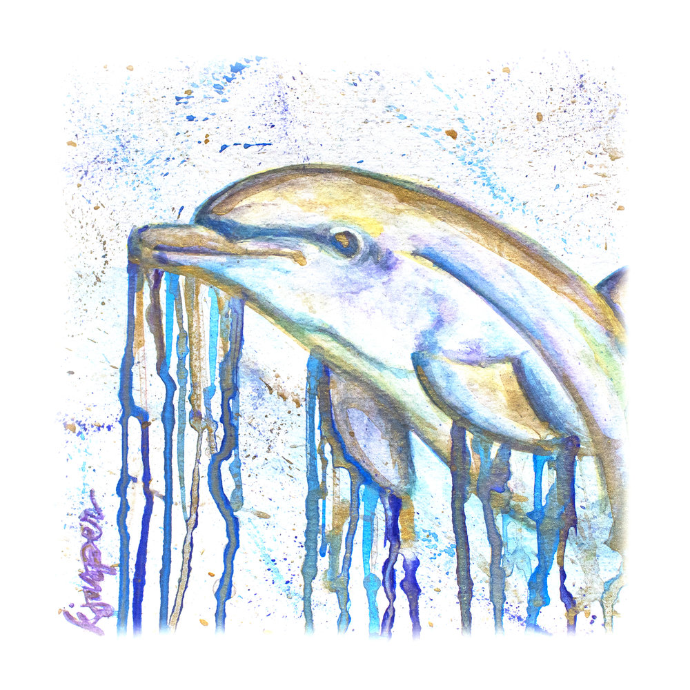 Drippy Dolphin (sold)