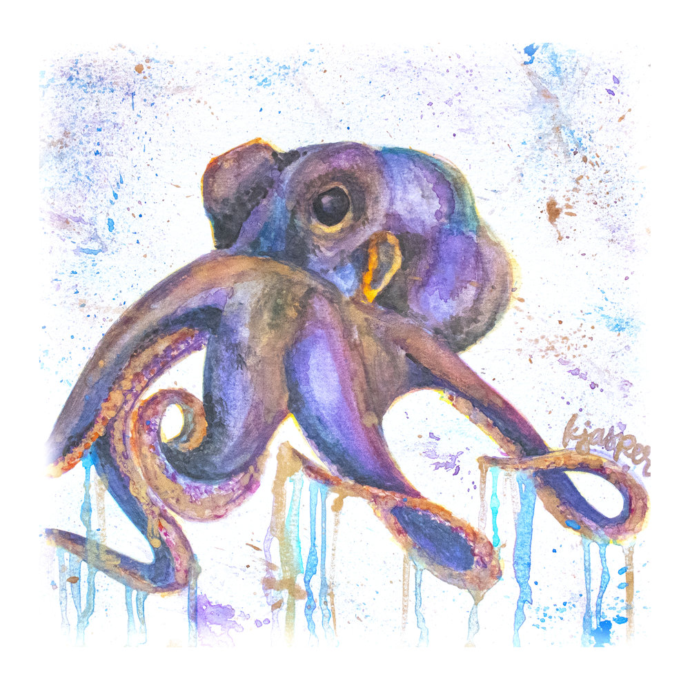 Drippy Octopus