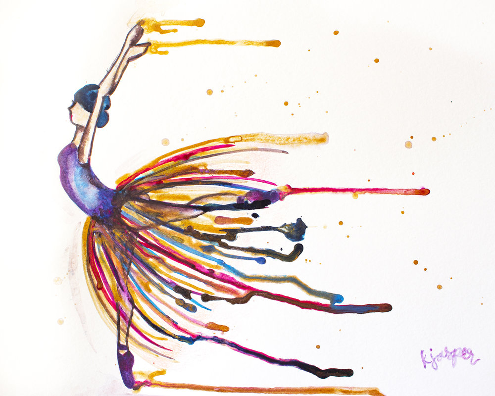 Drippy Ballerina (sold)