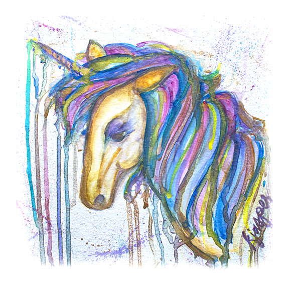 Drippy Unicorn (sold)