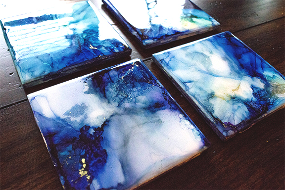 Into the Deep Coasters (sold)