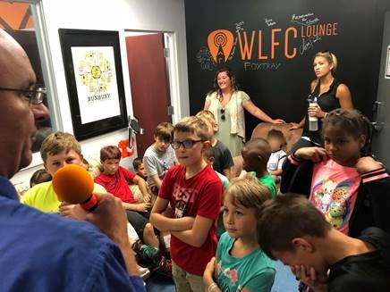 Image taken during a Summer of Fun visit to WLFC.