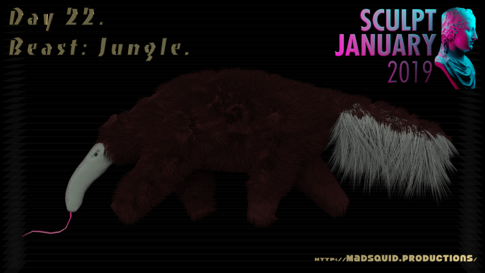 SculptJanuary19Day22BeastJungleMSP.png