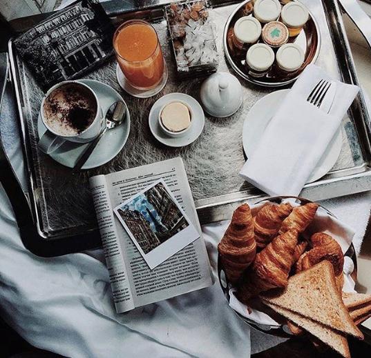 Hotel du Louvre Breakfast