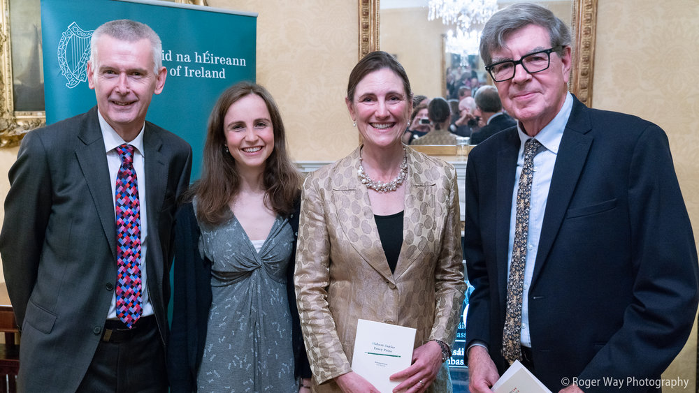 Ambassador Adrian O'Neill, Victoria Mason, Cordelia Gelly & Nigel Lewis