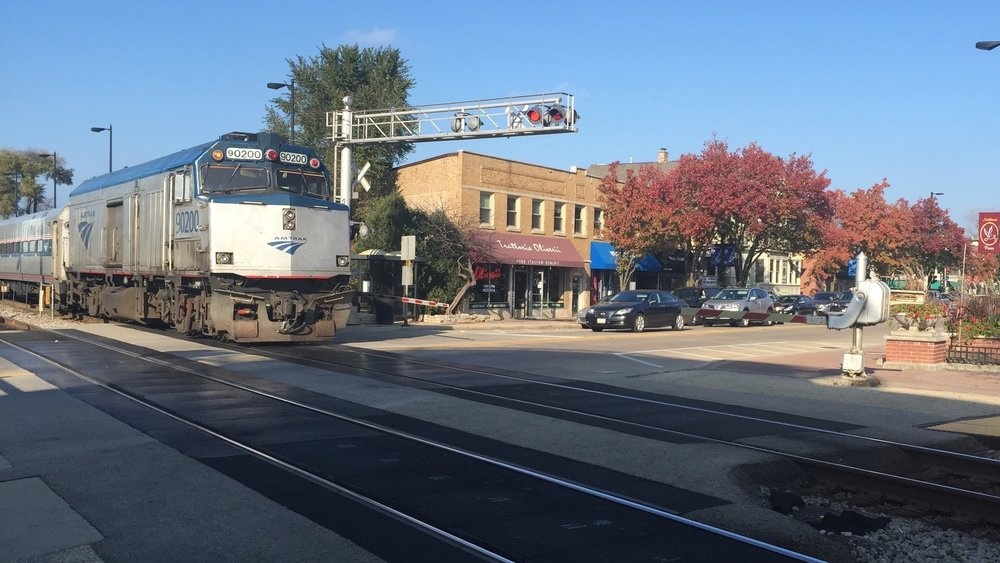 - Glenview officials are continuing their fight against the construction of a holding track that would run through the village as part of the proposed Amtrak Hiawatha project.