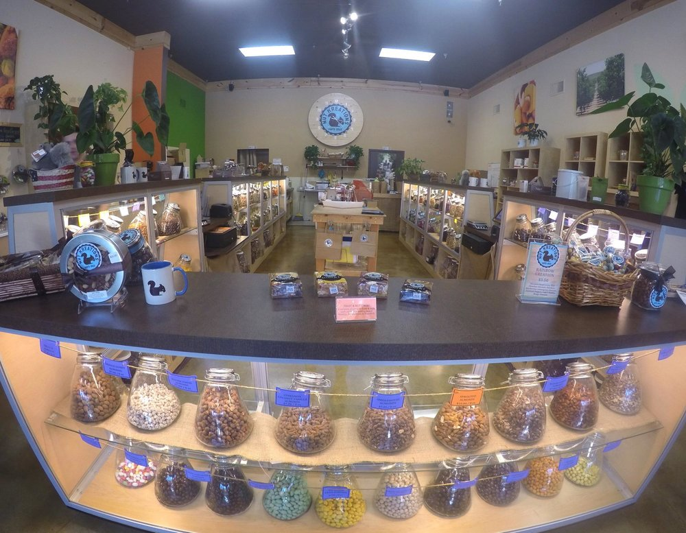 Nut Kreations - 104 Lincoln Street. Santa Cruz, CA 95060Phone: (831) 431-6435Email: Info@NutKreations.comHOURS OF OPERATION: Sunday - Thursday 11am - 6pmFriday & Saturday 11am - 7pm