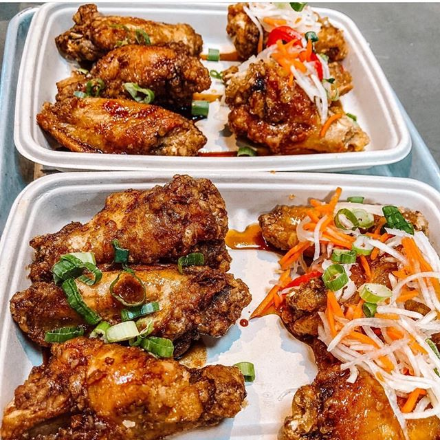 Just saying hi 👋, and thanks to @tampaish for this amazing shot of our #wings. While we are working on our new home we are still here and available for catering and pop up events! Shoot us a message and give us the deets! ❤️ you!