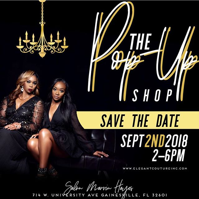 Mark your calendar 📆. One week from today, Elegant Couture Inc., Popup Shop Event. New arrivals, discounts, door prizes and more. Salon Marvin Hayes, Gainesville, FL🔥 #boutiqueshopping #exclusive #glowup #styleiswhatwedo #whatiwore #elegantcouture #onlineboutique #keepitclassy #couturefashion #gainesvilleboutique #shoppingaddiction #flatlay #boutiquelife #buythedress #jumpsuits #fashioninspo