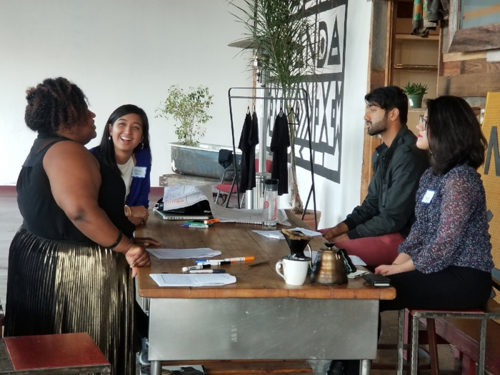 Conversations flowed as participants connected on shared life experiences and interests.