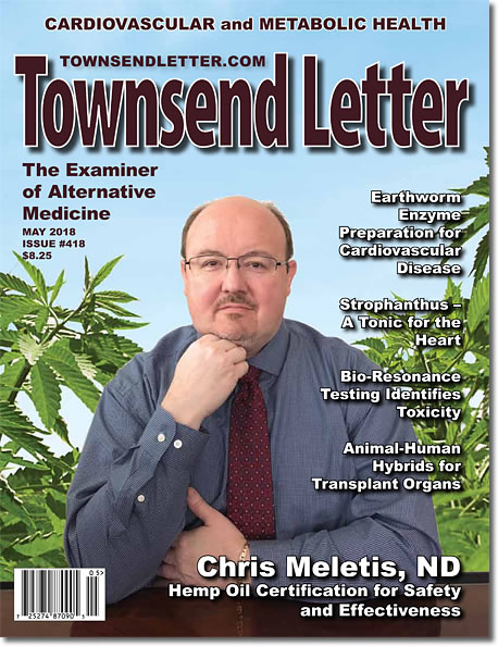 ON THE COVER  : Chris D. Meletis, ND