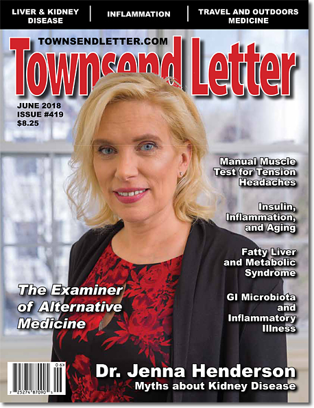 ON THE COVER:   Dr. Jenna C. Henderson