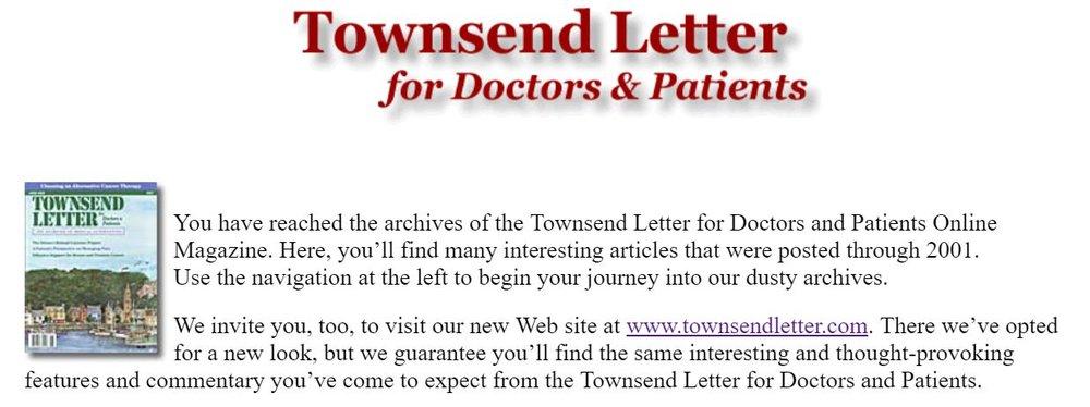 Townsendletterdrptoriginal homepage.JPG