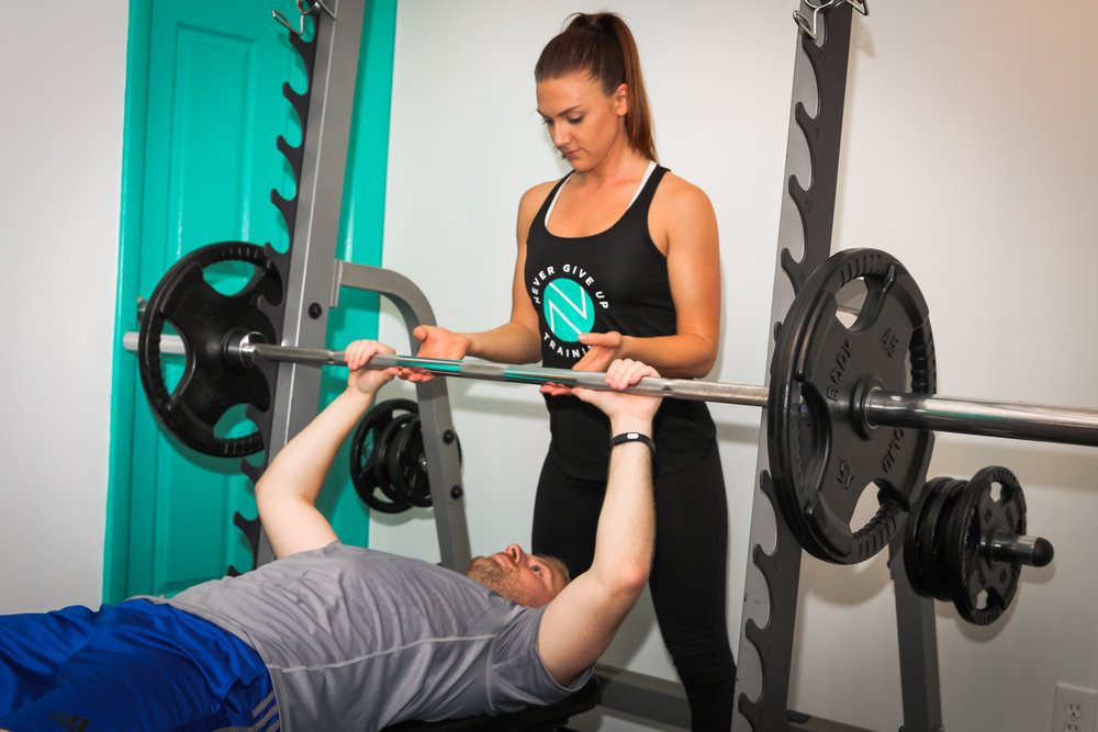 "Personal Training - FIRST SESSION IS FREEIn-Home & In-Studio Personal Training** NOW OFFERING SKYPE and FACETIME SESSIONS! **NGU Personal Training programs are designed to have our athletes and clients reach their personal goals in the most efficient and healthy way possible. Our private sessions are customized to your own fitness level, personal goals, as well as any past athletic history, injuries and health conditions.NGU values our client/trainer relationships. We see everyone as a community and as family. We offer 24/7 availability for our clients to answer any questions or concerns via email and phone. In addition, our trainers check in with clients and offer tailored tips to help you reach your goals. We believe the work to reach your goals does not take a pause when you walk out the door - we're here to help you all the time! What Can You Expect? What's the Process Like?During your first FREE 30-minute session, your certified trainer will meet with you to go over your personal goals and evaluate your fitness level in order to properly construct a personalized plan moving forward. Each session thereafter will be a 50-minute workout, each acting as a building block to the last. The workouts will always challenge you, motivate you and will push you to be better, stronger, more fit, happier and healthier than you were the session before. Our one-on-one workouts are a wonderful tool for more personalized attention and a workout tailored to your specific needs. We will have you seeing results faster than ever before! Our ""Duo Personal Sessions"" are also there as an option for those who enjoy working out with a friend or family member, but want the more personalized attention received through a personal session rather than class."