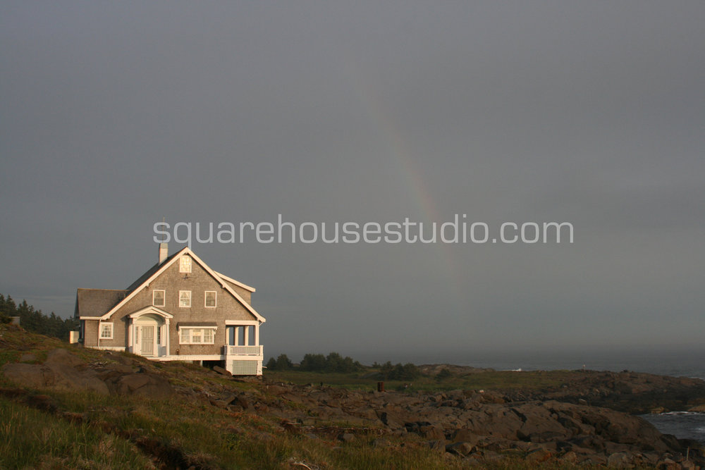 "Monhegan Rainbow , 8"" x 10,"" $50, Unframed photo"
