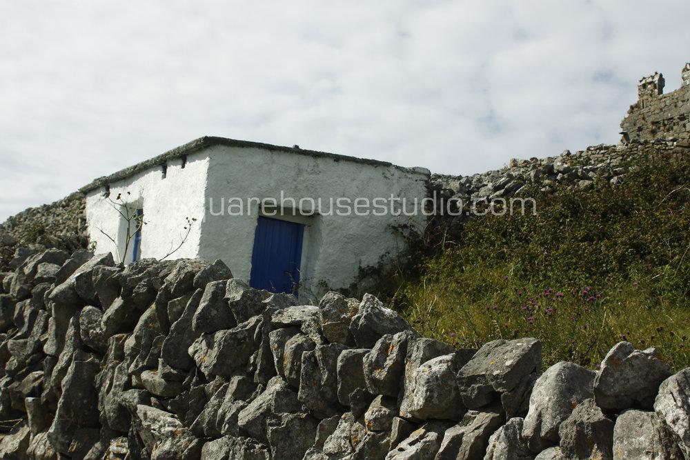 "Aran Dwelling , 8"" x 10,"" $50, Unframed photo"