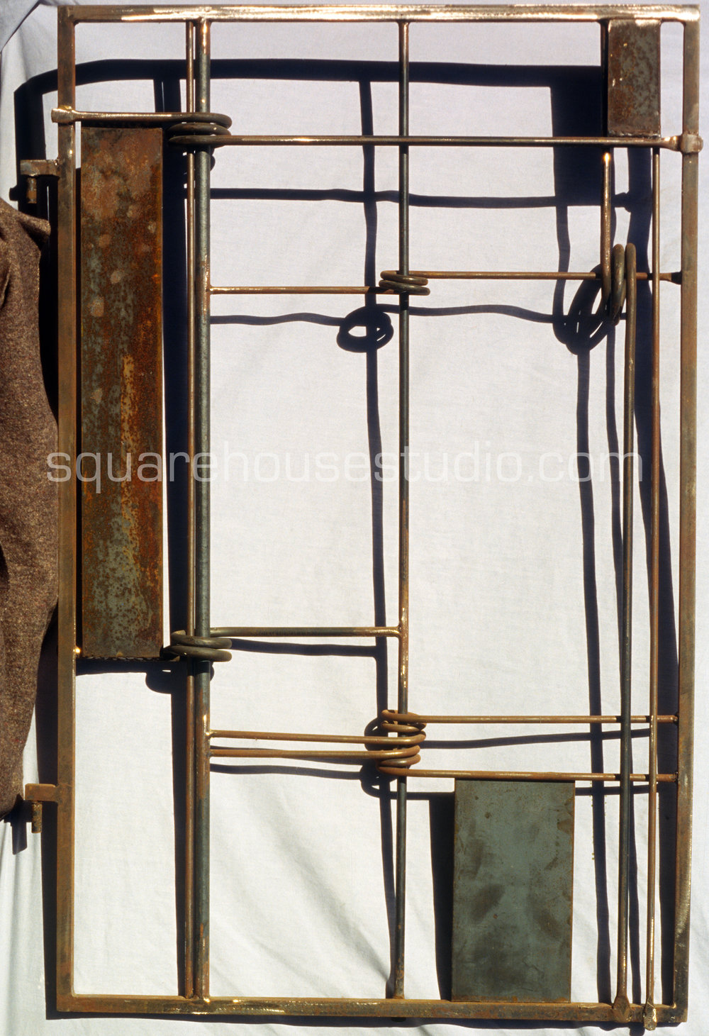 The Gateway of the Cross , SOLD, 3' x 4,' Cold rolled Steel