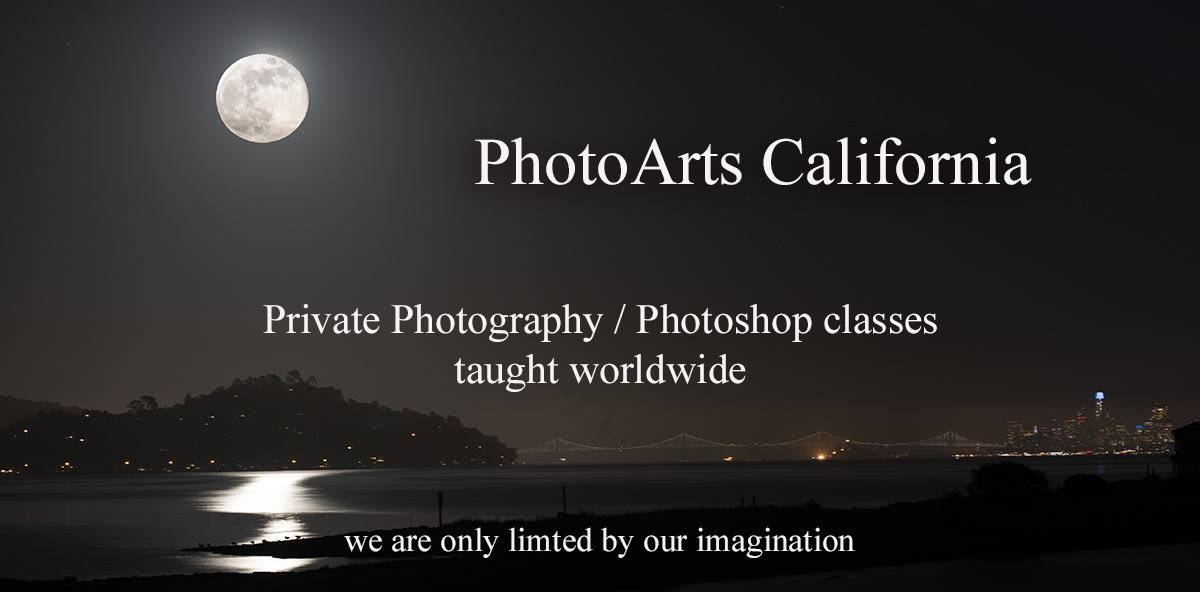 PhotoArts California Teaching the Art and Craft of Photography via live steaming video