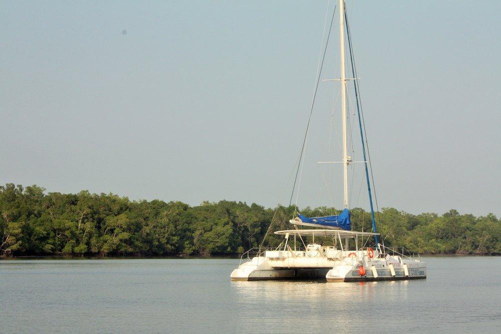 Catamaran Iles du Salut (French Guiana).JPG