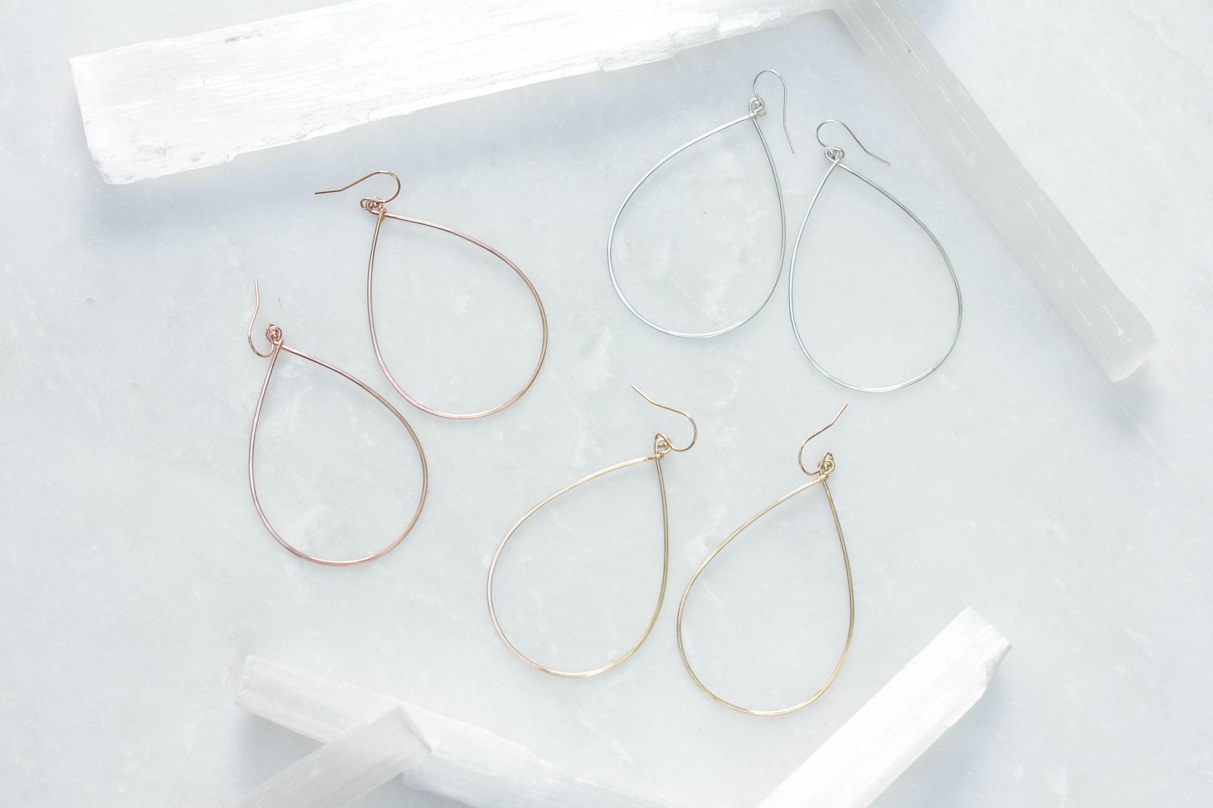 c2f4efe1b ... 14k gold fill or sterling. Large teardrop hoop earrings_Rach B  Jewelry_RB666_1.jpg
