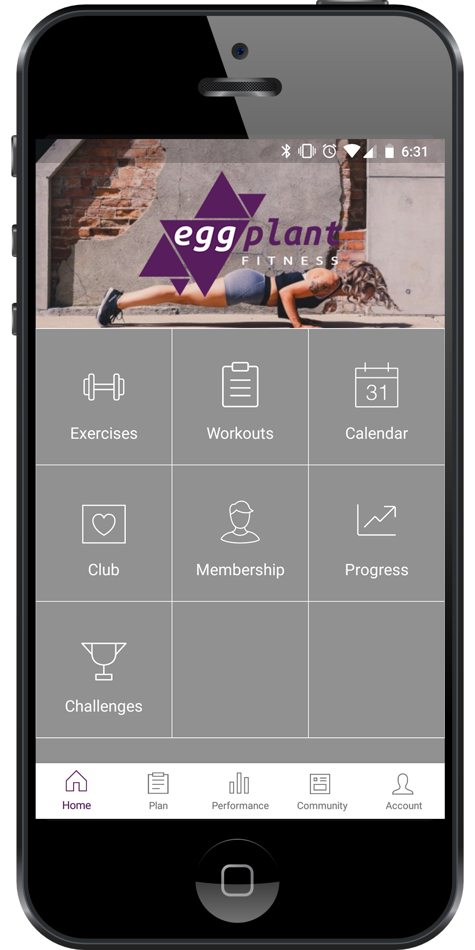 Imagine This - You wake up and check your personalized plan in the Eggplant Fitness app.Your coach has provided a sample meal plan, and you can track your food all day in the app to make sure you get the right amount of proteins, carbs, and fats.When you're ready to hit the gym, your coach has outlined the day's workout, complete with a demonstration animation for each exercise to help you get your form right.You find yourself needing a little reassurance or motivation, so you shoot your coach a message and get a quick response that keeps you on track to achieve your goals.You go to bed feeling like you can achieve anything!