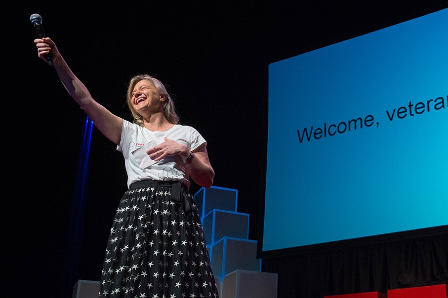 Kaila Colbin, Boma New Zealand - Curator, TEDxChristchurch; Curator, TEDxScottBase; Curator, SingularityU New Zealand Summit; Curator, SingularityU Australia Summit;  Co-founder, Ministry of Awesome
