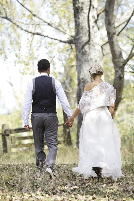 Jess & Jay<br>Married at Kitenui Deer Farm, Taupo March 2013