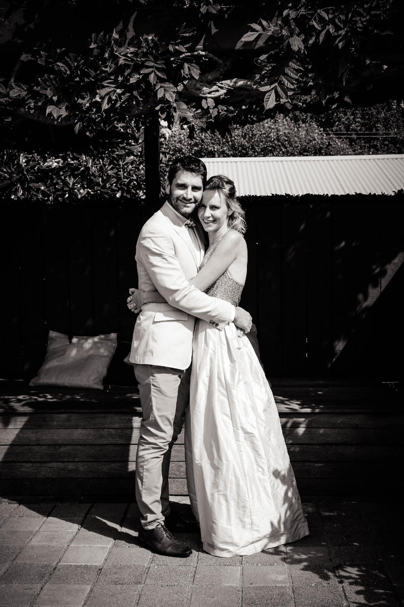 Caroline & James<br>Married in Auckland, April 2017