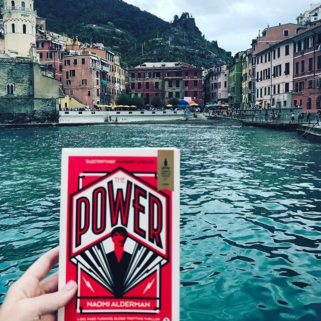 Isn't it neat how books (and airline tickets) can transport you to new and exotic places? #honeymooningjerk #cinqueterre #italy #caio