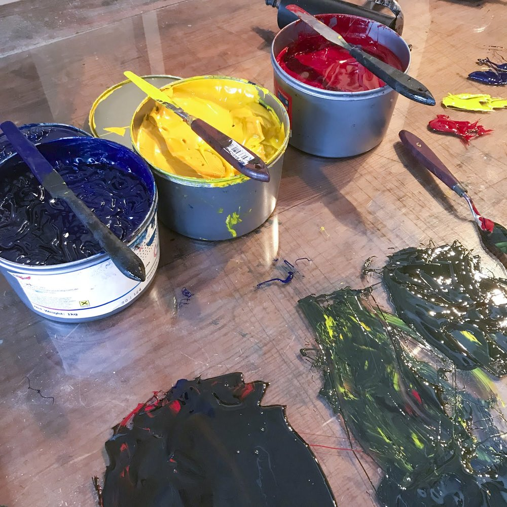 Choosing and mixing inks