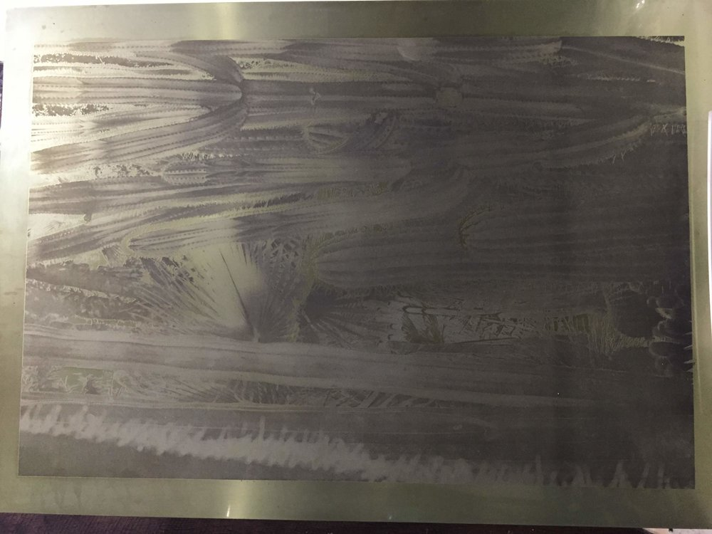Etched plate