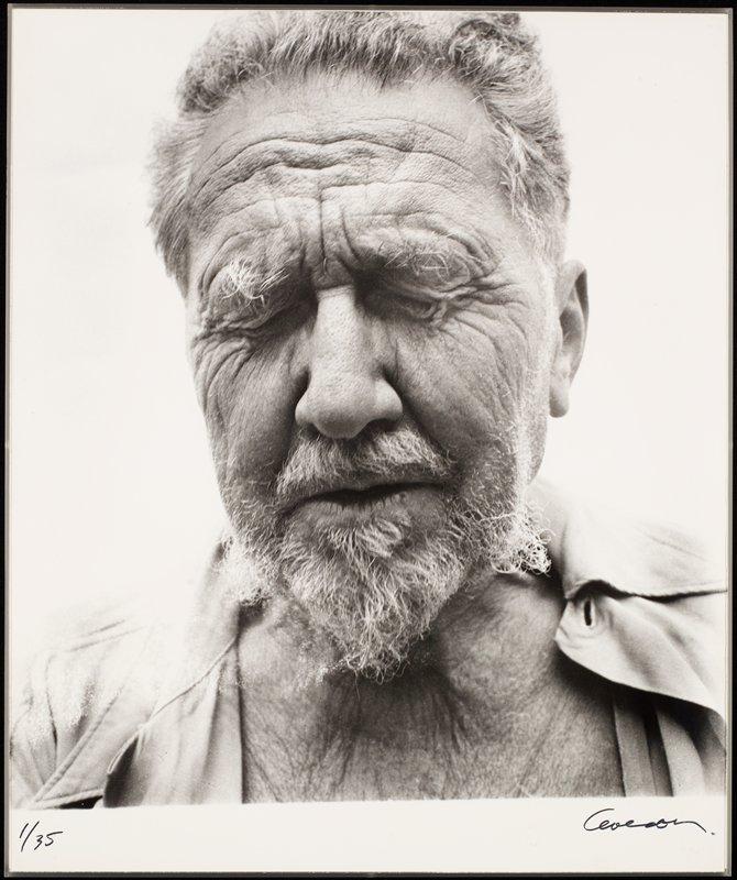 Richard Avedon's portrait of Ezra Pound