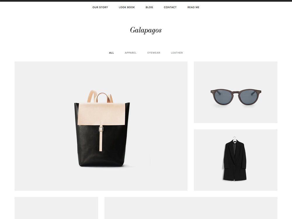 4 easy steps freelancers need to start their blog today. Squarespace Galapagos template perfect for e-commerce site