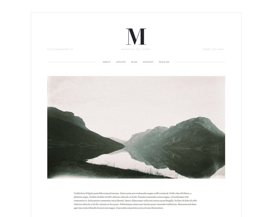 4 easy steps freelancers need to start their blog today. Squarespace Montauk template photo gallery portfolio.