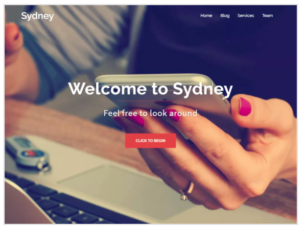 4 easy steps freelancers need to start their blog today. Wordpress top mobile friendly template Sydney.
