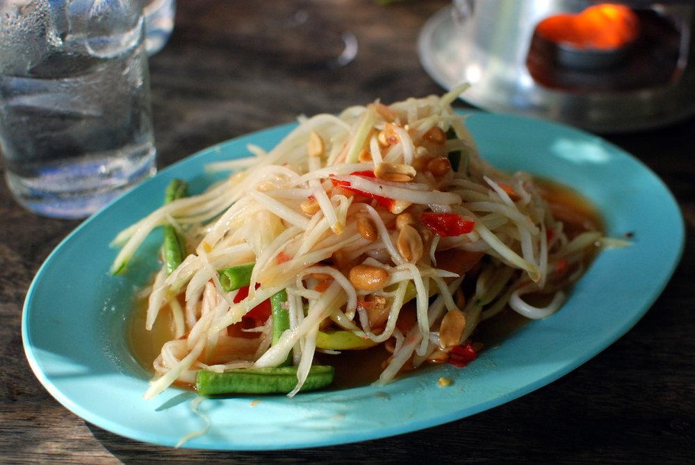 Som Tam - Papaya Salad -