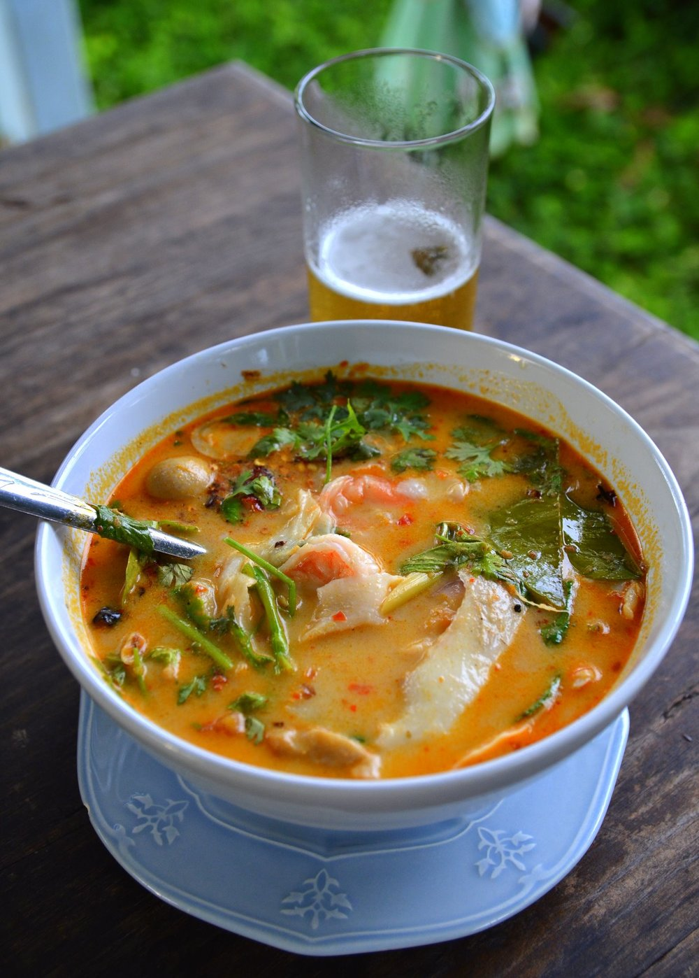 Tom Yum - Sweet & Spicy Soup -