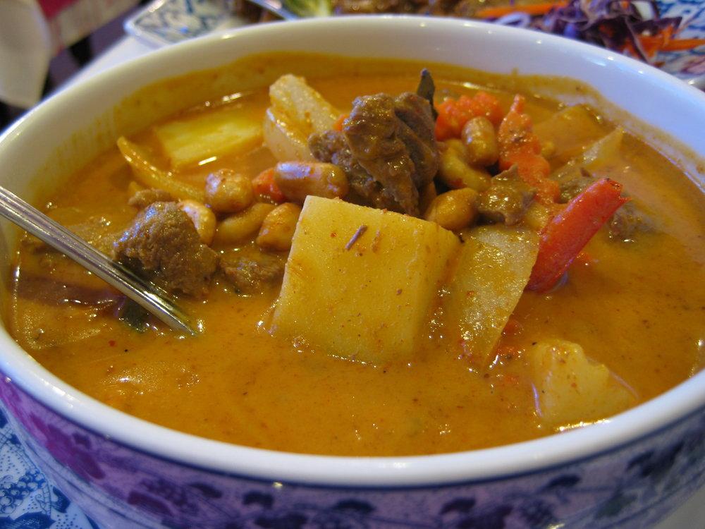 Kaeng Massaman - Mild Curry -