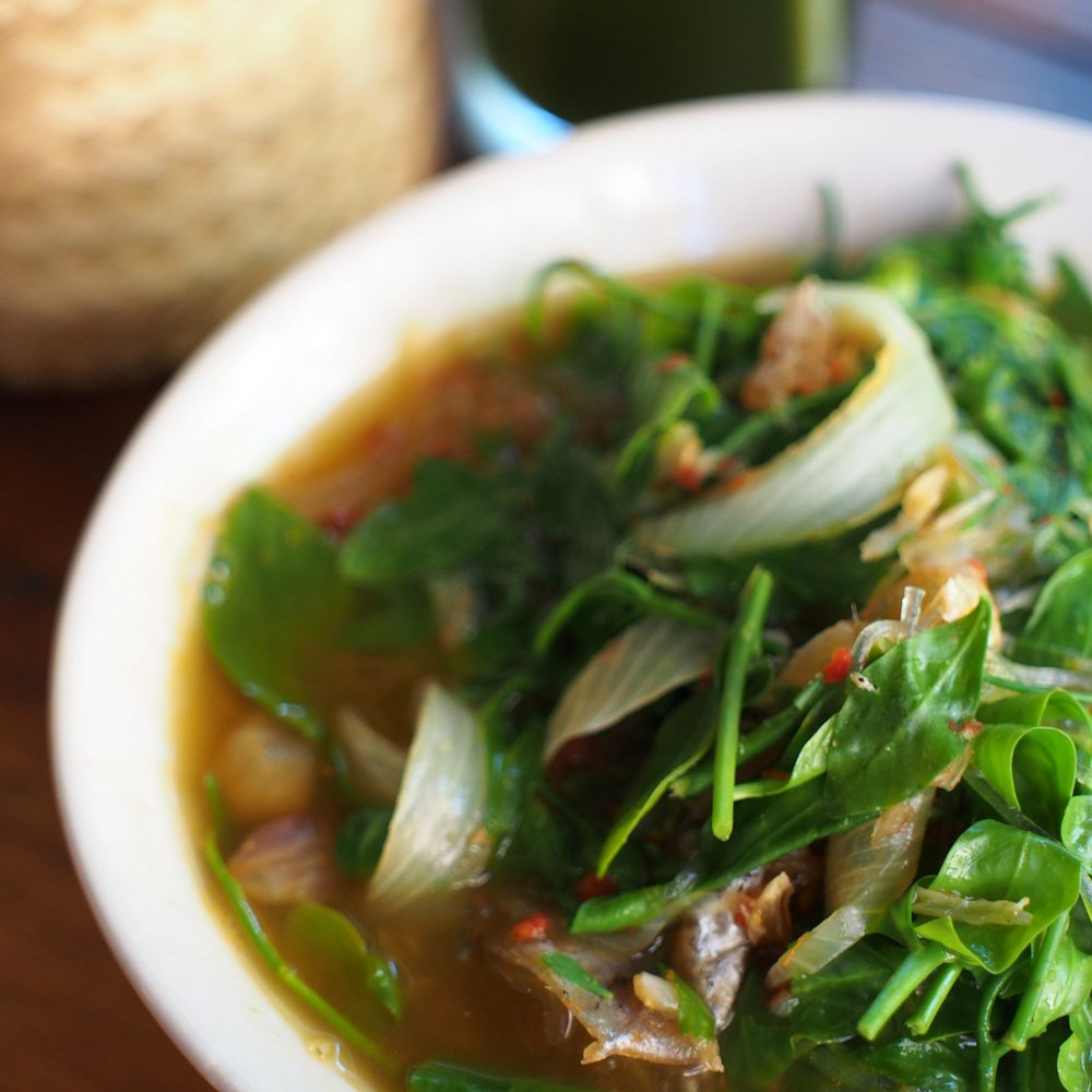 Kaeng Pa Talay - Spicy Watery Seafood Curry -