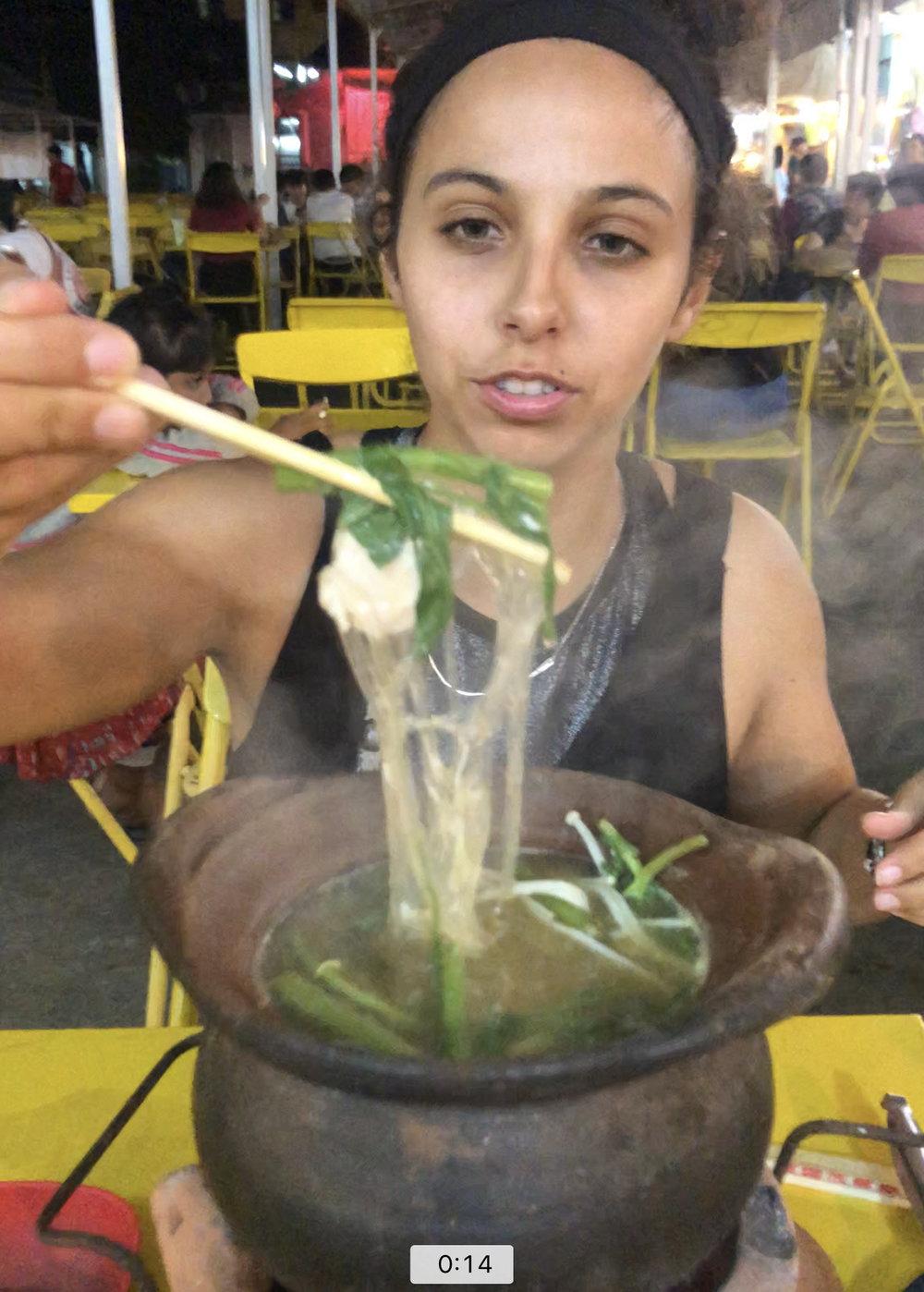 Go to Ayutthaya's weekend night market or Krungsri market