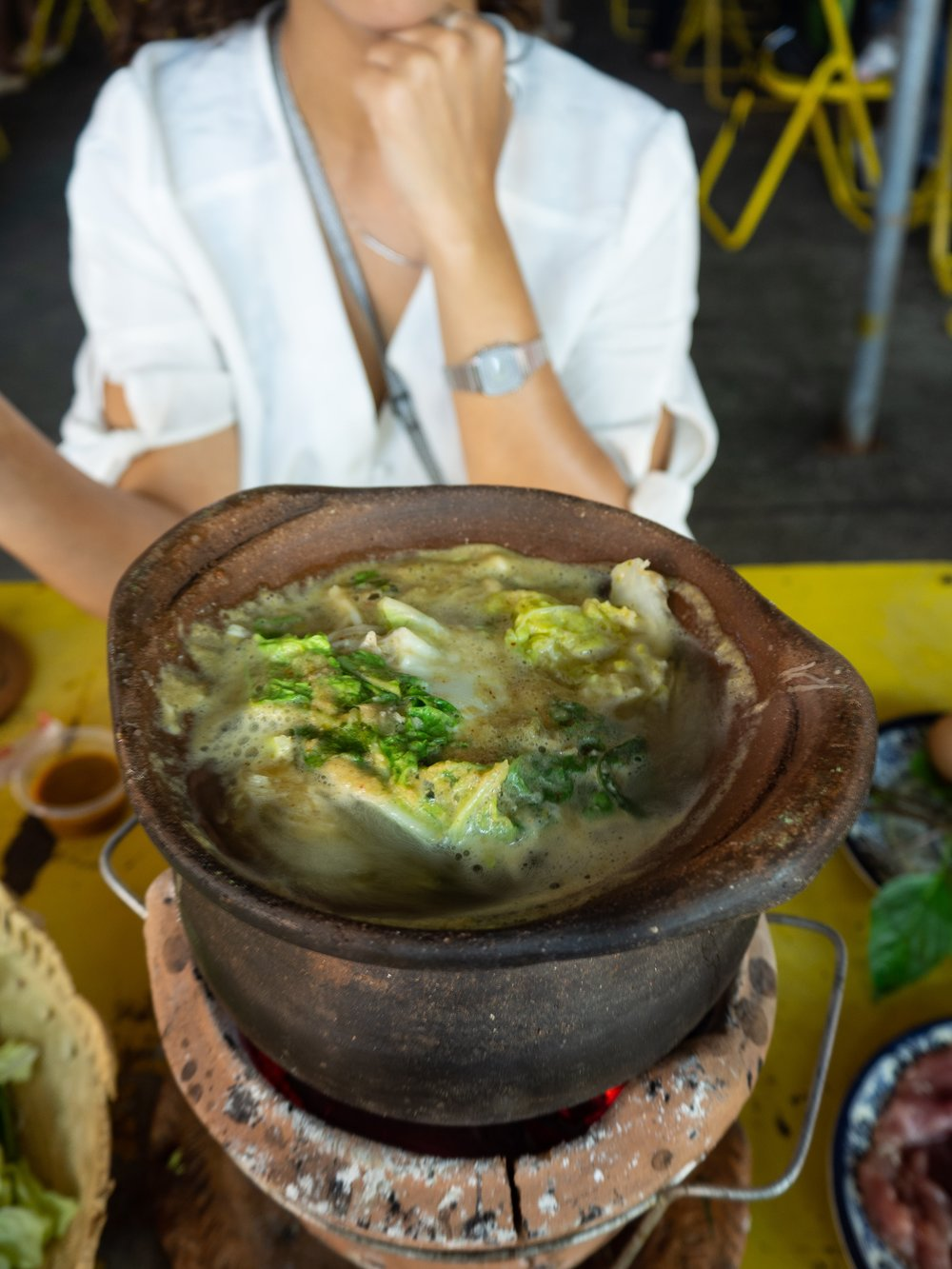 Thai Hot Pot Cooking and History