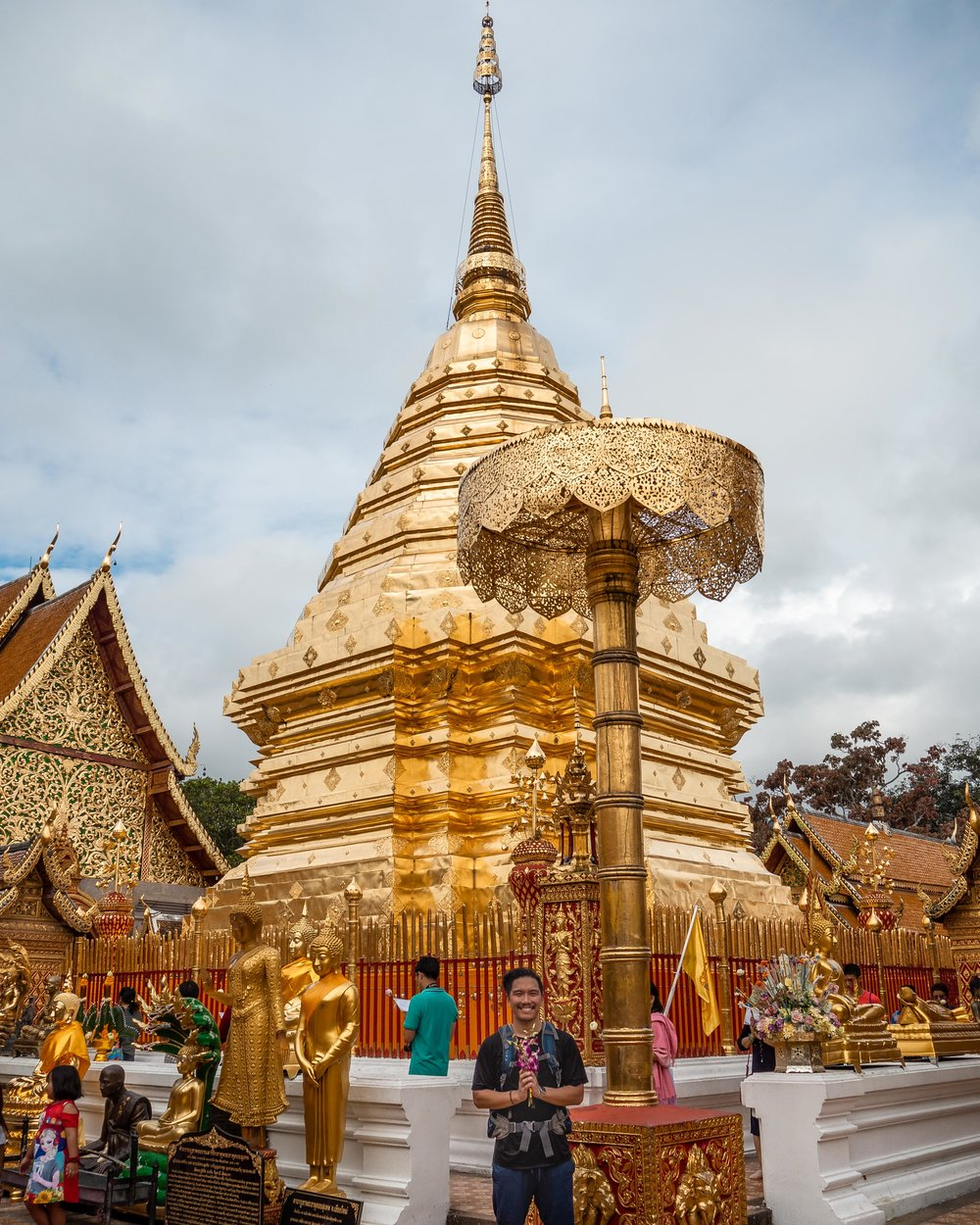 Wat Doi Suthep temples you should visit in Chiang Mai, Thailand
