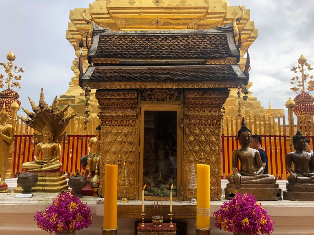 Top temples to see in Chiang Mai, Thailand Wat Doi Suthep