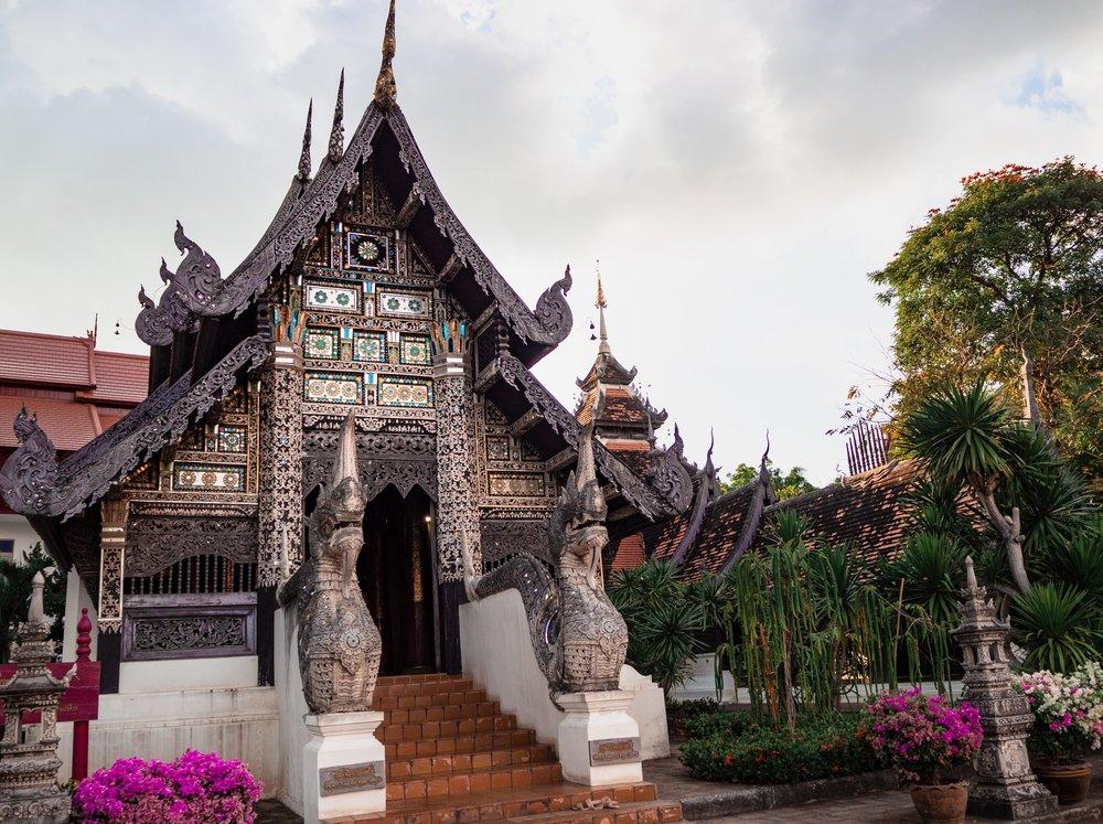 Top temples to visit in Chiang Mai, Wat Phan Tao