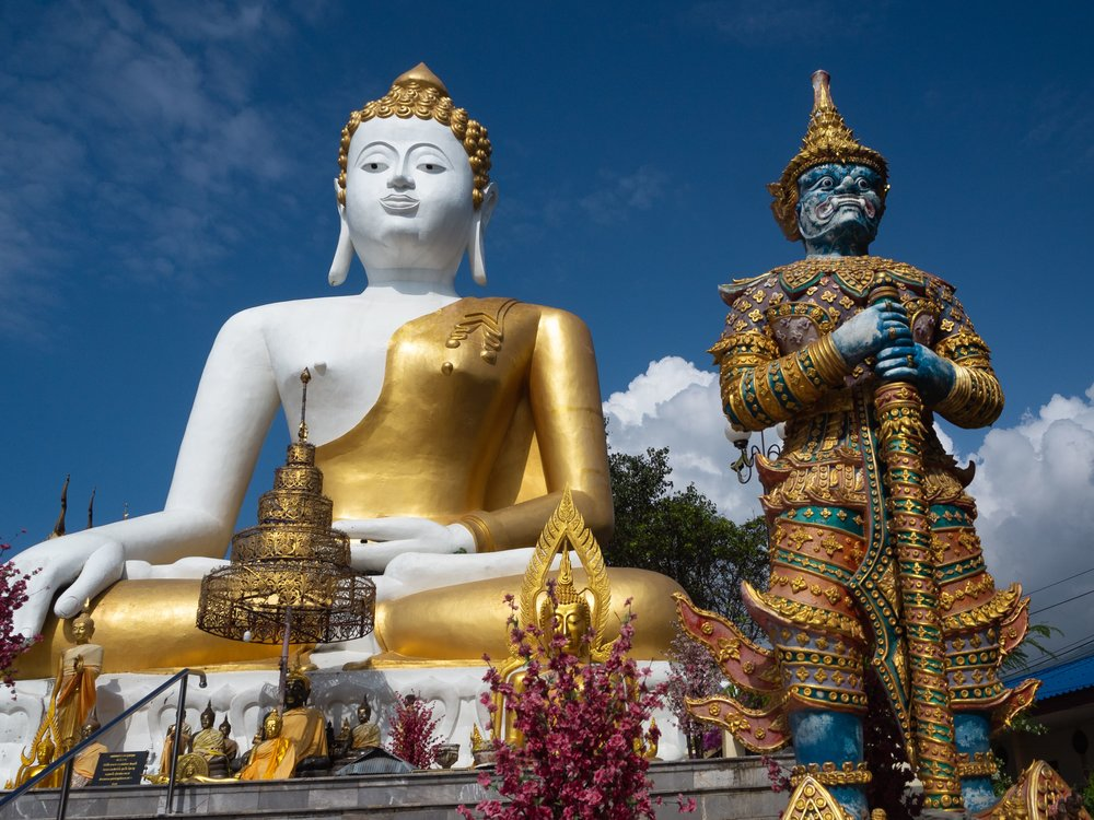 Top temples to visit in Chiang Mai, Thailand Wat Doi Kam