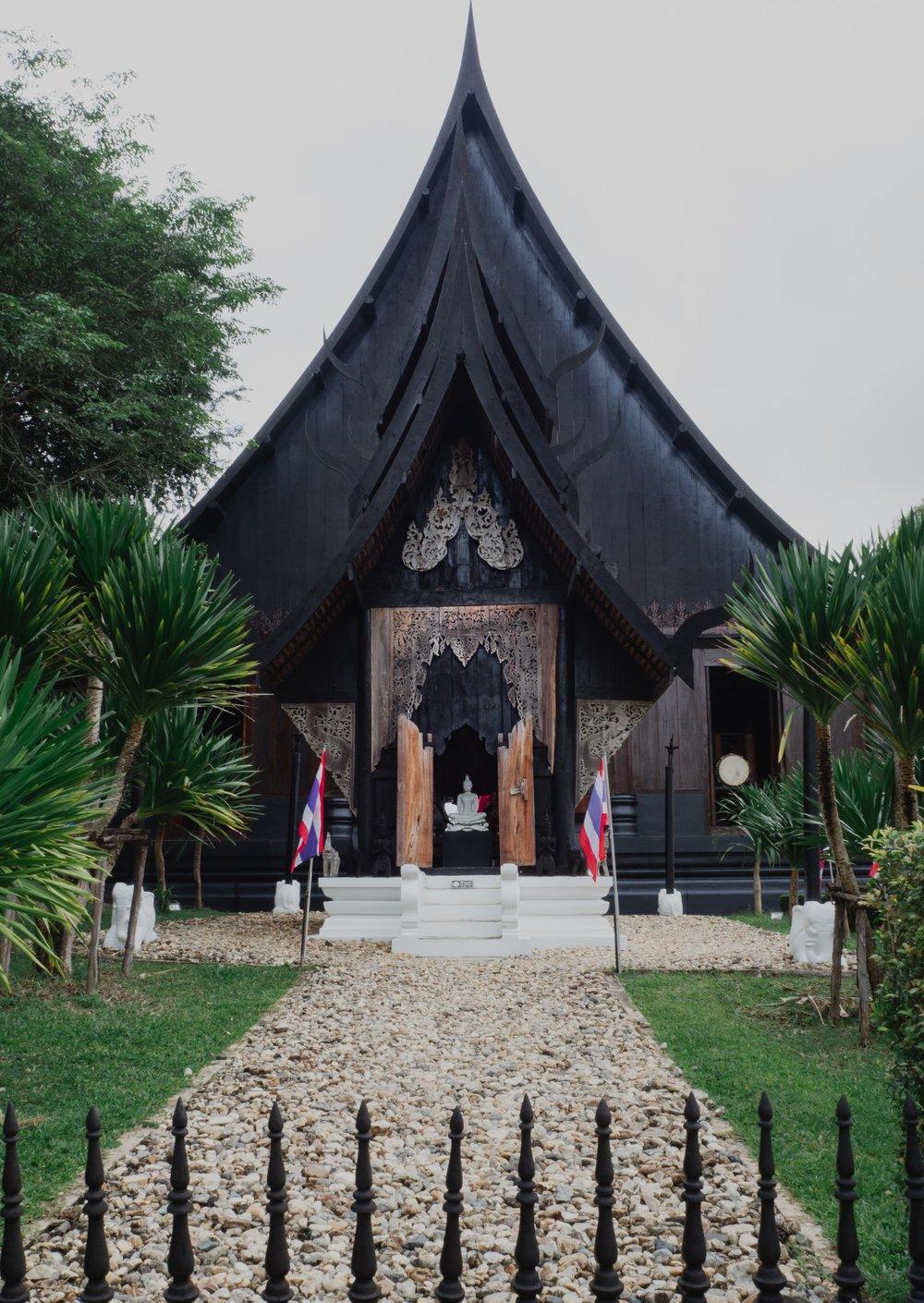 Temples in Chiang Rai Baandam Museum Black House