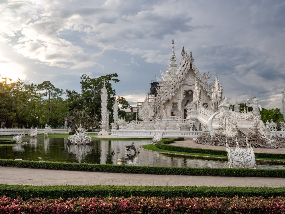 Temples in Chiang Rai White Temple