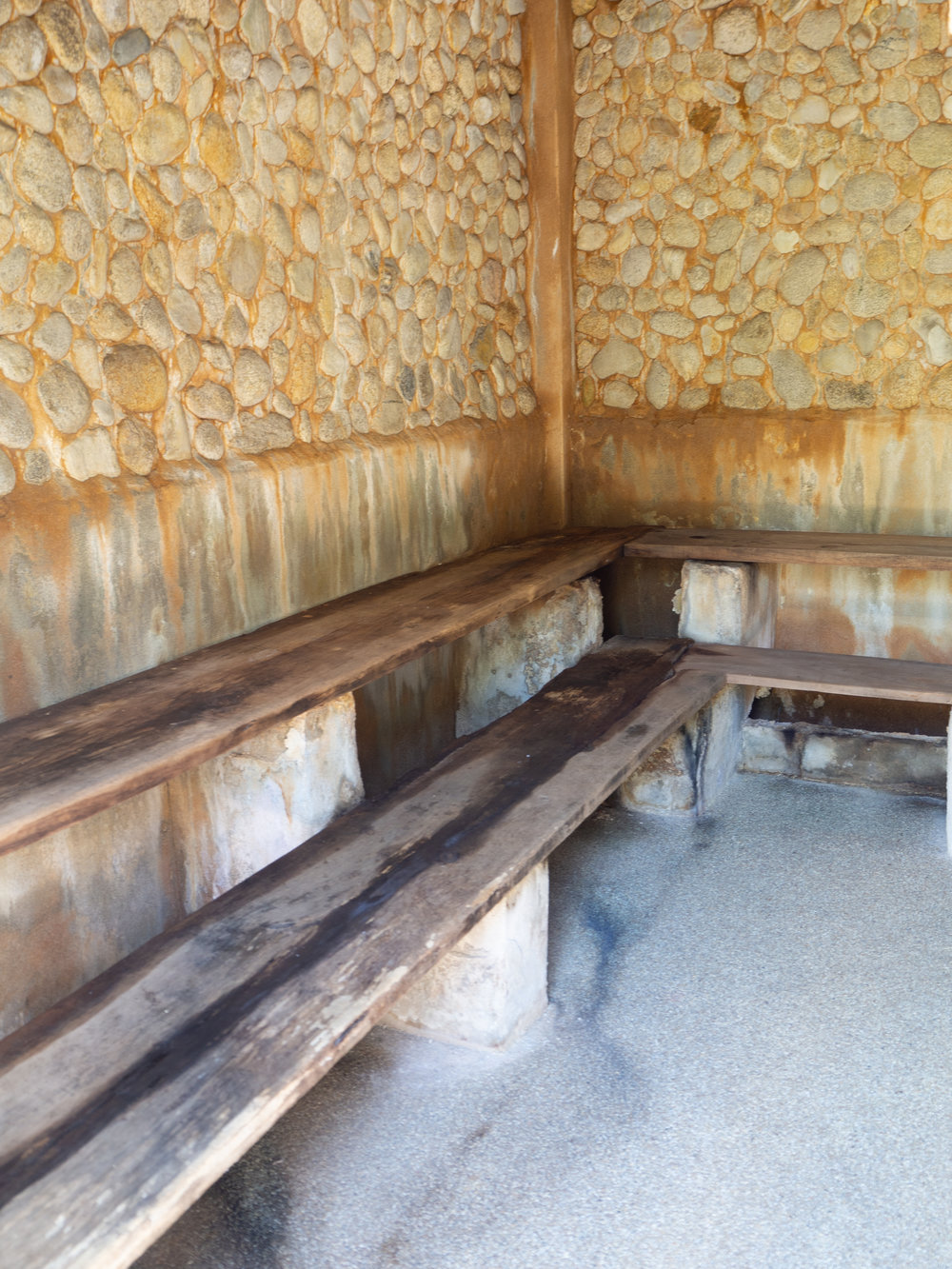 Mineral Sauna at Fang Hot Springs