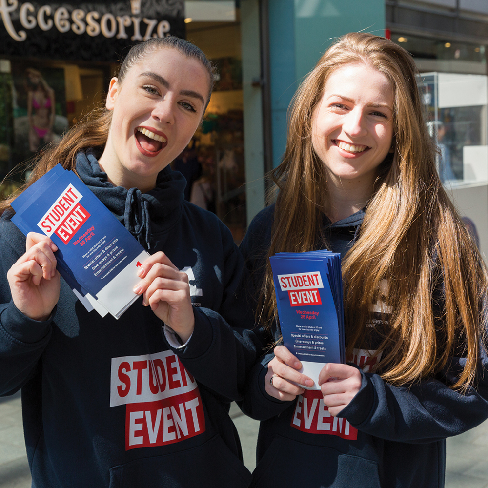 Liverpool ONE Student Event -