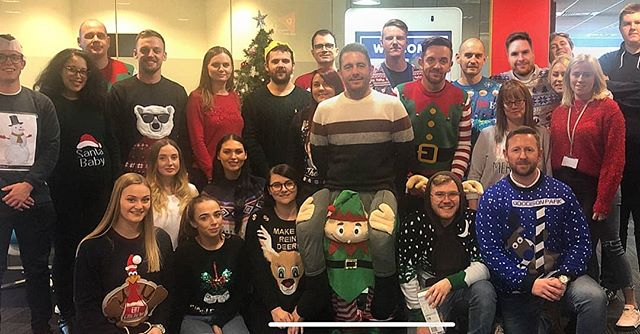 Celebrating Christmas Jumper day in the MAG office, all for a good cause @woodstreetmission to help children at this time of year. Wishing you all a Happy Christmas this year 🎄🎆🎄 #ChristmasatMAG #christmasjumpers